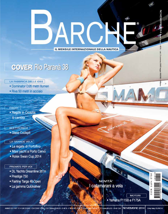 Barche - November 2014 cover2