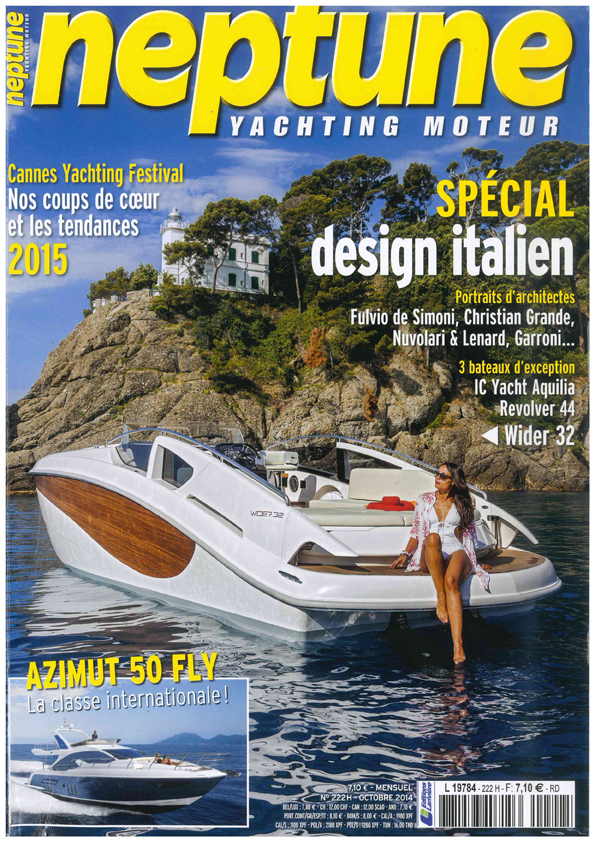 Neptune - October 2014 cover