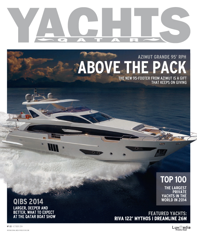 Yachts Qatar - September-October 2014 cover